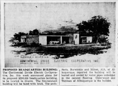 1958 Newspaper Article